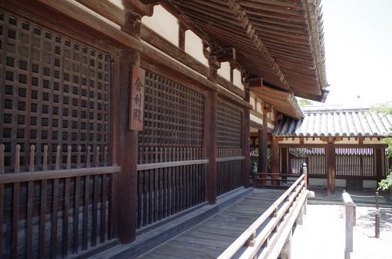 法隆寺13 東院伽藍 夢殿の廻廊と礼堂_16.jpg