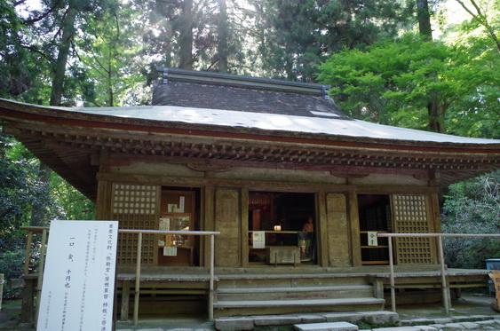 室生寺の弥勒堂